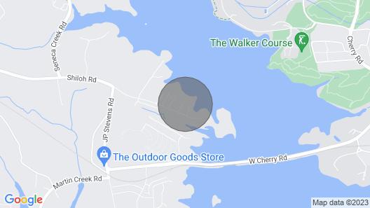 THE Premier Clemson /seneca Lake Home Map