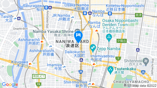 Nissin Namba Inn Map