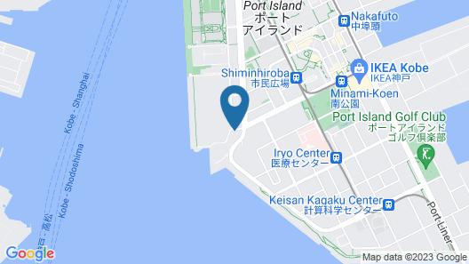 Centurion Hotel Vintage Kobe Map
