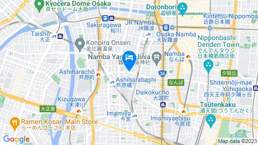 Yukinoyado Map