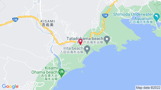 Japanese Style Pension Tamure Map