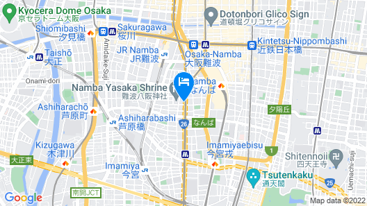 WellStay Namba Map