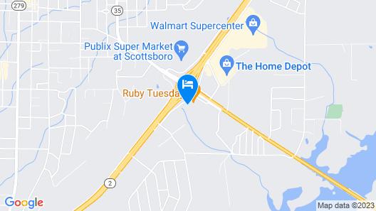 Quality Inn Scottsboro US-72 Map