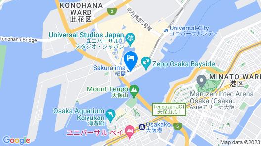 Liber Hotel At Universal Studios Japan Map