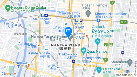 Hotel WBF Namba Motomachi Map