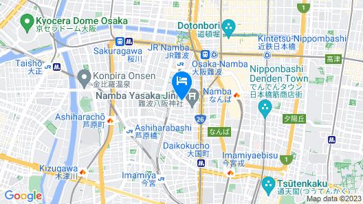 Toho Hotel MOTOMACHI Map