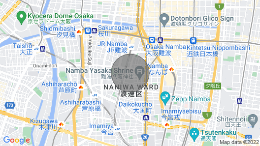 Entire House Rental Osaka Namba Nara USJ Transportation Convenience Discount Sale Price!no Extra Charge for Charter!two Bicycles Free! Map