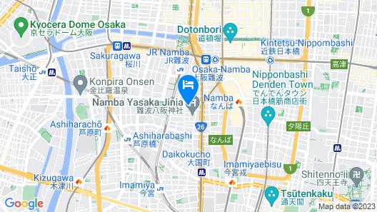 Fairfield by Marriott Osaka Namba Map