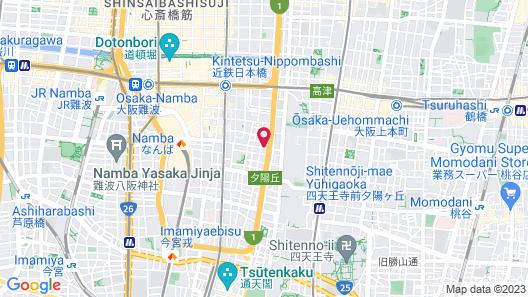 Grandi Nipponbashi Park Hotel Map