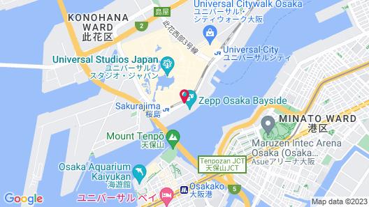 La'gent Hotel Osaka Bay Map