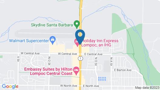 SureStay Plus Hotel by Best Western Lompoc Map