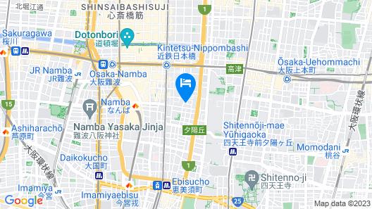 Omotenashi Hostel Nipponbashi Map