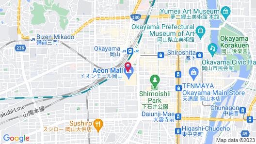 Mitsui Garden Hotel Okayama Map