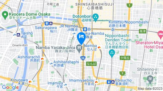 Grand Court Namba 601 Map