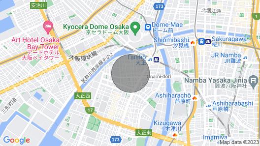 Renovated 7 Minutes Walk From JR Taisho Station - Akazawa Mansion 103 / Osaka Taisho-ku Osaka Map