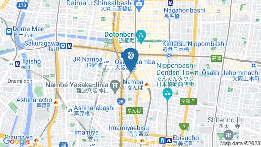 Hotel Ichiei Map