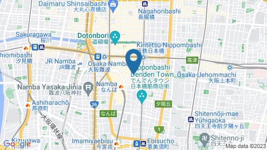 APA Hotel Namba-Ekihigashi Map
