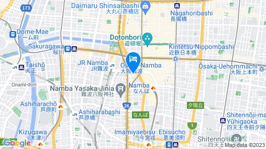 Sotetsu Fresa Inn Osaka-Namba Map