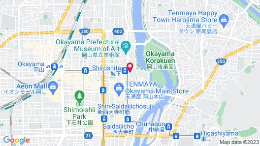 The OneFive Okayama Map