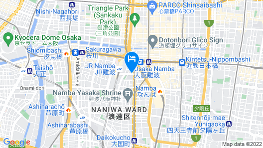 HOTEL GRACERY Osaka Namba Map