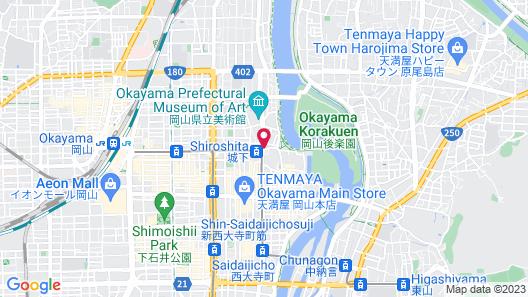 Hotel Excel Okayama Map