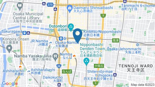 Namba Oriental Hotel Map