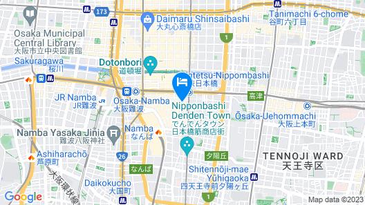 KAMON HOTEL NAMBA Map
