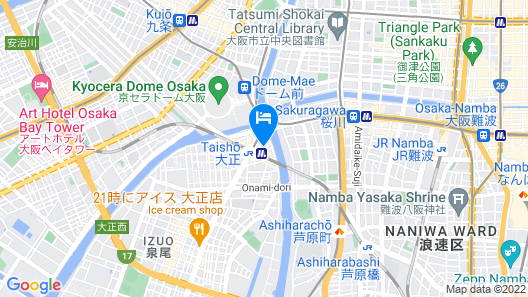 Sangenya Map