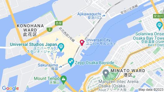 Hotel Universal Port Vita Map