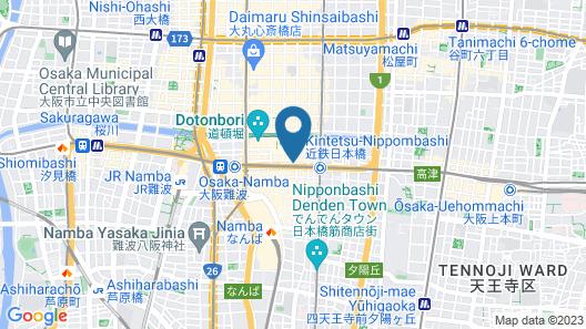 Agora Place Osaka Namba Map