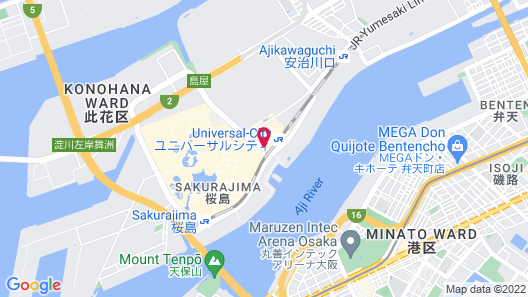 Hotel Keihan Universal Tower Map