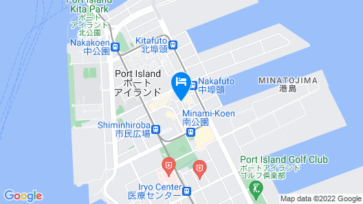 Hotel Pearl City Kobe Map
