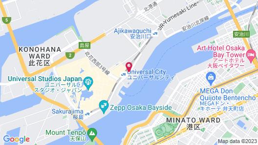The Singulari Hotel & Skyspa at Universal Studios Japan Map