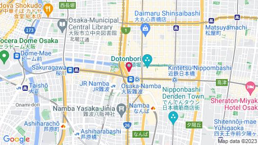 HOTEL 88 SHINSAIBASHI Map