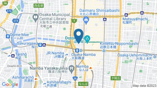 The Dotonbori Hotel Map