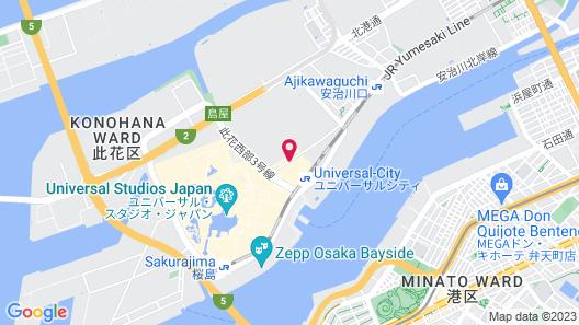 Hotel Kintetsu Universal City Map