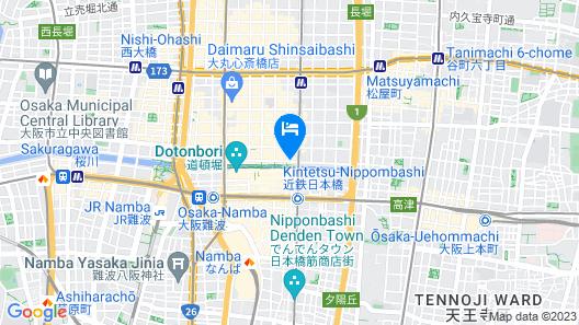 Kaneyoshi Ryokan Map