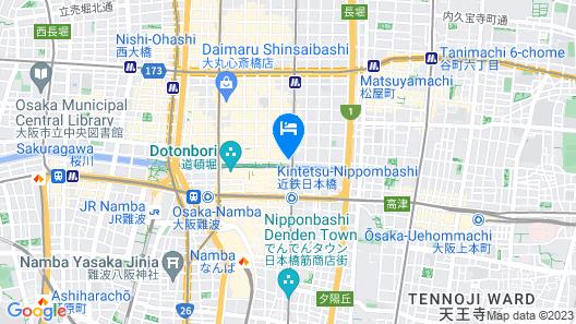 AZU GARDEN NIPPONBASHI Map