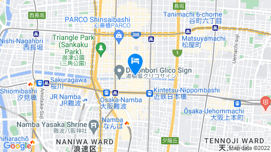 Holiday Inn Osaka Namba Map