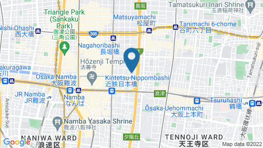Mifune Central-Bear Shimanouchi No.2 Hotel Map