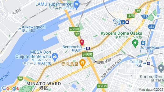 ART HOTEL Osaka Bay Tower Map