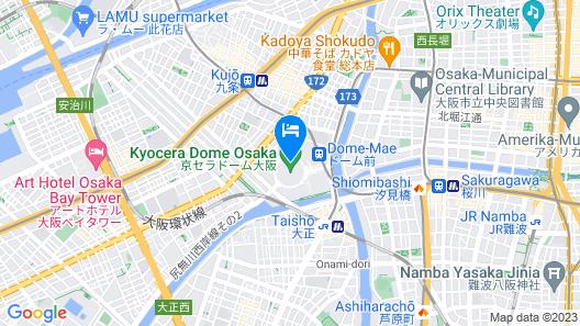 Osaka Dome Map