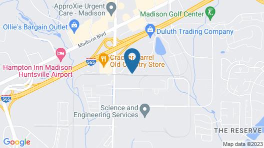 Home2 Suites Madison Huntsville Airport Map