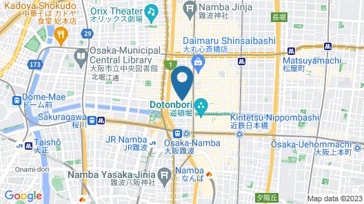 karaksa hotel Osaka Namba Map