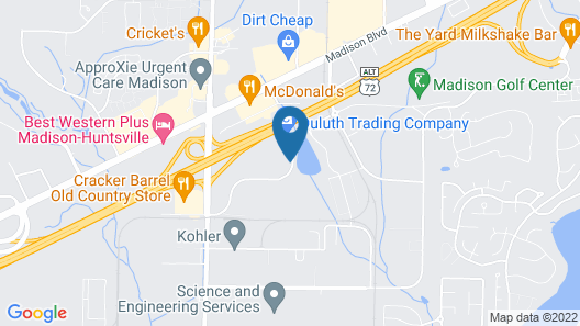 avid hotel Madison - Huntsville West, an IHG Hotel Map