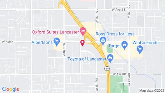 Lancaster Inn Map