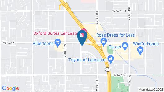 Motel 6 Lancaster, CA Map