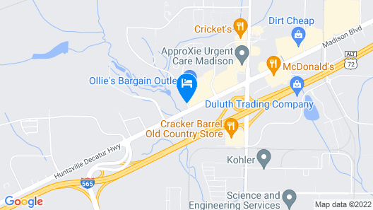 Country Inn & Suites by Radisson, Madison, AL Map