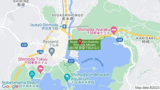 SHIMODA ITOEN HOTEL HANAMISAKI Map