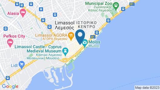 Metropole Hotel Map